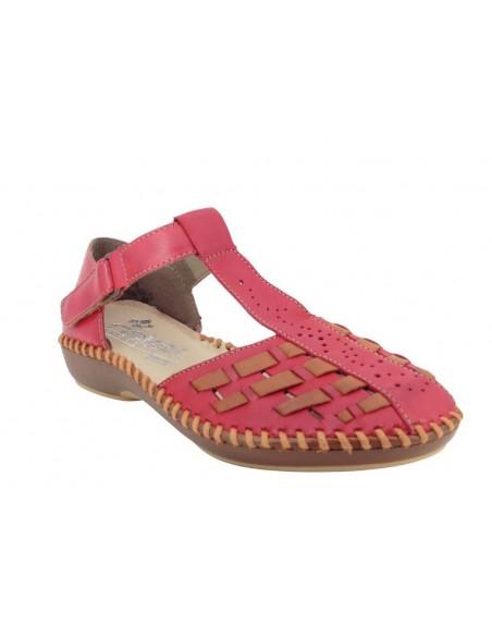 Sandales M1658-33 rouge RIEKER